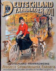 Versandkatalog Fahrraeder  erster Versandhandel Deutschlands  1911