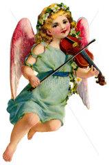 Engelchen spielt Geige  1900