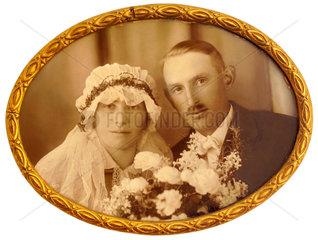 Hochzeitsfoto  um 1923