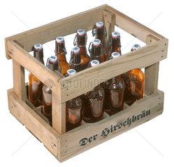 Leergut  Kasten Bier  Pfandflaschen