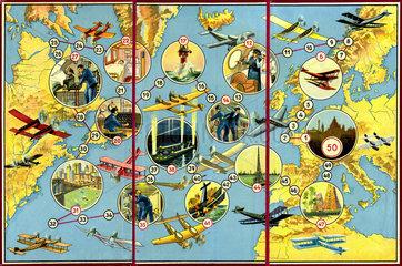 Flugzeug-Spiel  1929