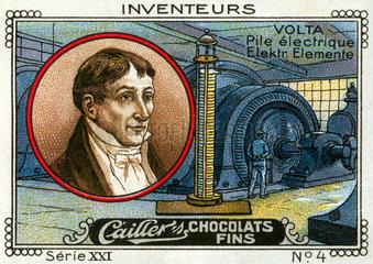 Erfinder Alessandro Volta