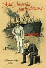 Buchcover Nach Amerika durchgebrannt  1900