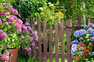 Gartentor  Garten