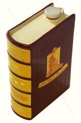 Cognacflasche als Buch getarnt  um 1958
