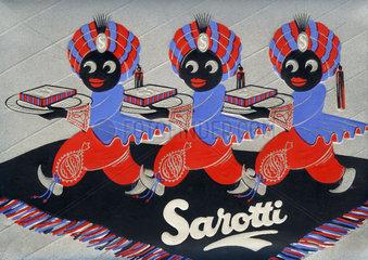 alte Sarotti Pralinenschachtel  1932