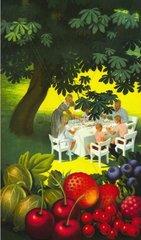 Familie beim gemeinsamen Essen  um 1932