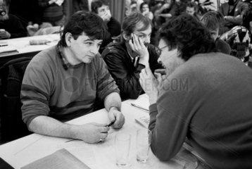 Joschka Fischer  Tom Koenigs  Hubert Kleinert  1987