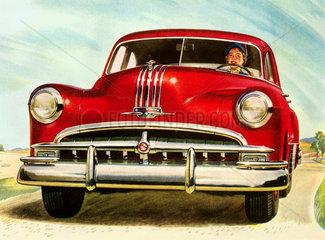 Pontiac  Autofahrerin  1949