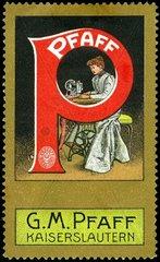 Naehmaschinenwerbung 1912