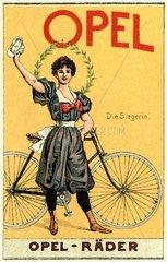 Opel Fahrradwerbung 1901