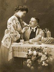 Ehepaar 1910