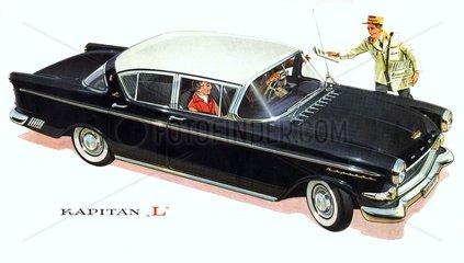 Opel Kapitaen L  1958
