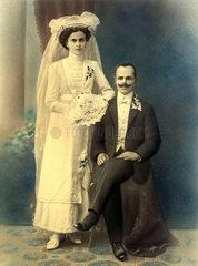Hochzeitsfoto  um 1920