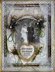 dekoratives Hochzeitsbild  1908