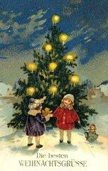 Weihnachtsbaum 1928