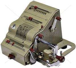 Rechenmaschine Brunsviga  1958