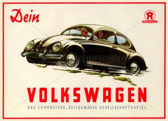 Dein Volkswagen  Gesellschaftsspiel  1952
