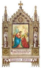 Andenken an die Erste Heilige Kommunion 1889