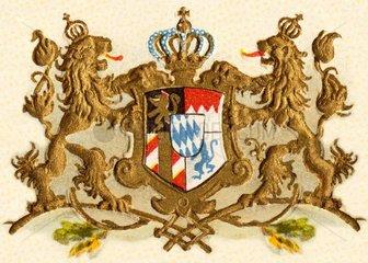 Wappen Koenigreich Bayern  1900