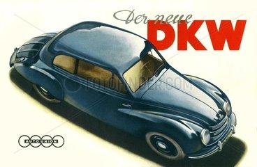 Automodell von DKW  1950