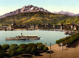 Luzern  Vuierwaldstaetter See  um 1899