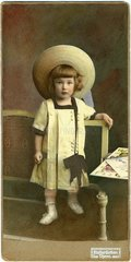historisches Kinderfoto  1909