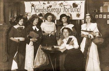 Heiratsvermittlung  Theaterstueck  1912