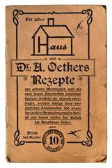 Dr. Oetker Rezepte  1907