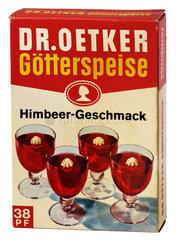 Dr. Oetker Goetterspeise  um 1970