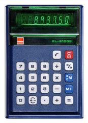einer der ersten elektronischen Taschenrechner  1975