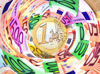Symbolfoto Wirtschaftskrise  Eurokrise