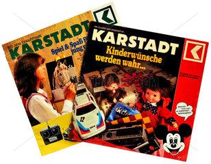 Karstadt Prospekte  1979  1981