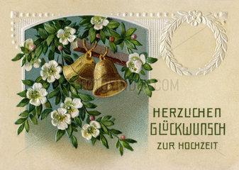 Herzlichen Glueckwunsch zur Hochzeit  1907