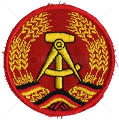 DDR Emblem  Aermelaufnaeher  1989