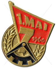 alter Anstecker zum 1. Mai 1960  DDR