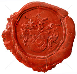 altes Siegel  Adelssegel  1720