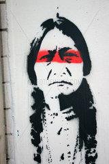 Geronimo Graffiti in Berlin