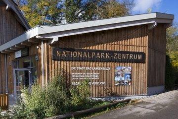 Nationalparkzentrum  Nationalpark Hainich  UNESCO Weltnaturerbe  Bad Langensalza  Thueringen  Deutschland  Europa