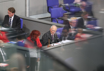GERMANY-BERLIN-SCHAEUBLE-PRESIDENT OF FEDERAL PARLIAMENT