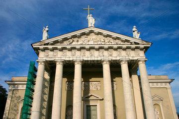 Litauen/Vilnius. St.-Stanislaus-Kathedrale.