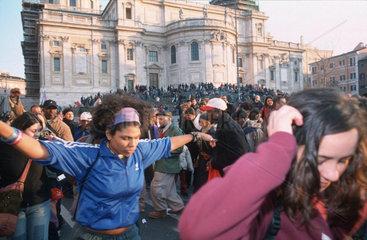 Friedensdemo in Rom