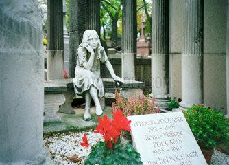 Paris Friedhof Cimeti_re du P_re Lachaise