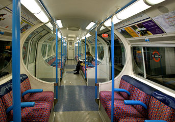 U-Bahn ( Tube) in London.