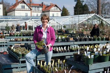 Gabriella Pape - die Landschaftsarchitektin leitet die Koenigliche Gartenakademie in Dahlem.