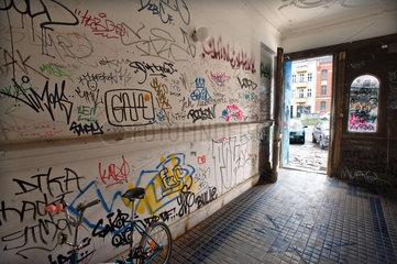 Graffitti Schwaben raus! - In Berlin werden die Schwaben so gehasst wie keine anderen Einwanderer