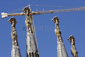 Tuerme von La Sagrada Familia