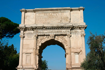 Rome. Arco di Tito