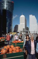 Kuerbis Verkauf am Potsdamer Platz
