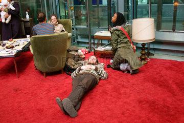 Berlinale 56. Wohnzimmer atmosphaere im Arsenal